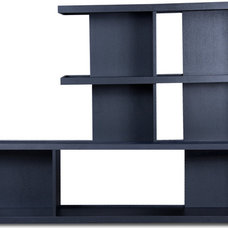 modern bookcases cabinets and computer armoires Axis Shelf Set VI