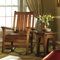 Stickley Chapel Street Rocker 89/91/837-R -