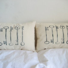 Modern Bed Pillows And Pillowcases by Etsy