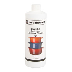 Le Creuset - Le Creuset 12 oz. Cookware Cleaner - Blended from 100% biodegradable ingredients, this Cookware Cleaner polishes and preserves Le Creuset Enameled Cast Iron.