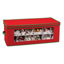 Vision Holiday Ornament Storage Box - Large - Large Vision Holiday Ornament Storage Chest Features