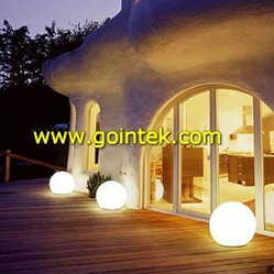 LED PE Ball Light,Color Changing LED Ball