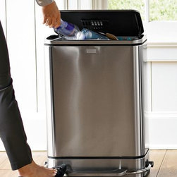 simplehuman™ Steel Bar™ Step Trash Can - This is probably my favorite trash can for a kitchen that doesn't have space for it to be built-in. It's worth every penny.
