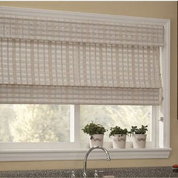 Woven Wood Shades- Bamboo Blinds- Kitchen Ideas - Woven Wood Shades also called bamboo blinds or woven wood blinds are made from natural reeds and fibers, like bamboo. If eco friendly shades are important to you, Woven Wood Shades are the perfect window treatment option for you.
