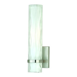 Vaxcel Lighting - Vaxcel Lighting W0049 Vilo 1 Light Wall Sconce - Features: