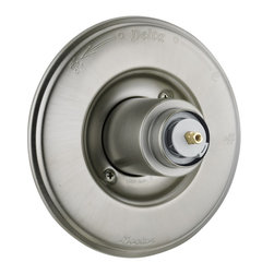 Delta - Victorian Monitor 14 Series Valve Trim Only Less Handle in Stainless - Delta T14055-SSLHP Victorian Monitor 14 Series Valve Trim Only Less Handle in Stainless.