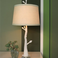 eclectic table lamps by Moth Design