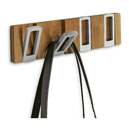Alias Multihook - I love how compact and inexpensive this coat rack is. This would be ideal for a tight space.