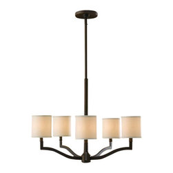 Murray Feiss - 5 Bulb Oil Rubbed Bronze Chandelier - -UL Dry Approved.