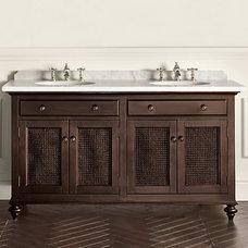 Double Vanity Sink