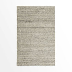Steven Alan Solid Wool Shag Rug, Oatmeal - This shaggy rug will be cozy on your guest's toes, and its no-fuss color will allow you to bring in vibrant hues with pillows and comforters.