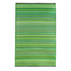 None - Prater Mills Indoor/ OutdoorReversible Green Rug - Add a splash of color to any indoor or outdoor living space with this reversible indoor or outdoor rug. Made from recycled plastics,this vibrant rug is strong,durable,soft,and environmentally friendly. It is also impervious to water and mildew.