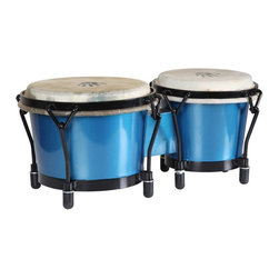 X8 Drums - X8 Drums Blue Professional Bongo Drums - X8-BNG-JRNY-BL - Shop for Toy Instruments from Hayneedle.com! The X8 Drums Blue Professional Bongo Drums are made from virtually indestructible PVC and still deliver incredible tone and volume. So even the most vigorous beatniks can jam on these beauts. About X8 DrumsX8 Drums truly walks to the beat of their own drum. This family-owned company is committed to providing the best selection of high-quality musical instruments with an emphasis on world music percussion instruments. X8 Drums has certainly helped champion ethnic hand drums in the digital age thanks to its founders - a New York City rocker and an internet sage.