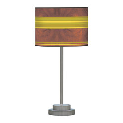 Horizontal Stripey 1 Stem Table Lamp