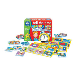 The Original Toy Company - The Original Toy Company Kids Children Play Tell the Time - Say the time out loud and try to make a match on your action-packed playing board. Children learn and develop skills with analogue and digital times. Play value may also be extended by usingthe kitchen clock or wall clock. Made in England. Ages 5-9 years. 2-4 players.
