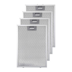 """Replacement Filter for 48"""" Treviso Series Island-Mount Range Hood - These replacement filters for the 48"""" Treviso Series Island-Mount Range Hood are easily installed and conveniently reusable."""