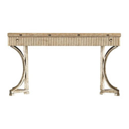 Stanley Furniture - Coastal Living Resort-Curl Tide Flip Top Table - Weathered and welcoming, the ever-versatile Flip Top Table brings seaside sophistication to dining and living spaces alike.