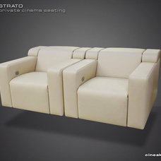 Contemporary Love Seats by Cineak Custom Home Theater Seats