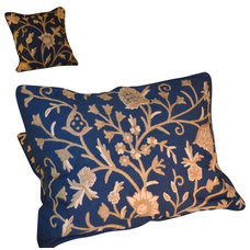 Craftsman Pillowcases And Shams by Crewel Fabric World by MDS