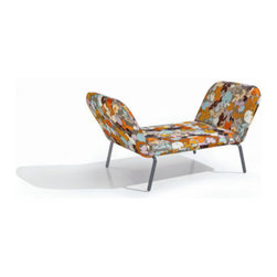 Missoni Home - Flip Chaise Longue - This chaise is modern,vintage, eclectic all rolled up into one. It folds into different shapes for use and folds up completely when you don't need it. The print is groovy and will make a statement by your pool.