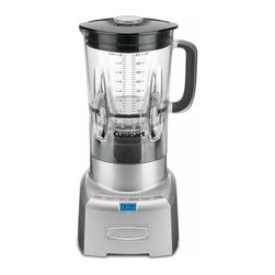 Cuisinart - Cuisinart CBT-1000 PowerEdge Blender Multicolor - CBT-1000 - Shop for Blenders from Hayneedle.com! There's more to the art of blending than just spinning some blades around and the Cuisinart CBT-1000 PowerEdge Blender is here to show us how it's done. This counter-top blender features six different speeds with three pre-programmed functions for smoothies ice-crushing and pulsing allowing you to make anything from your own frappucino to a home-made salsa. The BPA-free carafe is larger than the industry standard and harder to break than glass while still being marked with English and metric graduations like its glass predecessors. The 1.5-hp motor is definitely going to have the stainless steel blades handling even your toughest jobs and the leak-proof PVC gasket and non-slip feet will keep everything exactly where you want it until the mixing is done.