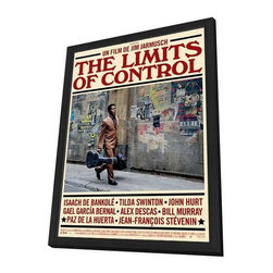 The Limits of Control 27 x 40 Movie Poster - French Style A - in Deluxe Wood Fra - The Limits of Control 27 x 40 Movie Poster - French Style A - in Deluxe Wood Frame.  Amazing movie poster, comes ready to hang, 27 x 40 inches poster size, and 29 x 42 inches in total size framed. Cast: Hector Colome