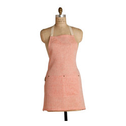Salmon Mini Bib Apron