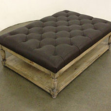 Eclectic Coffee Tables by Quatrine Custom Furniture
