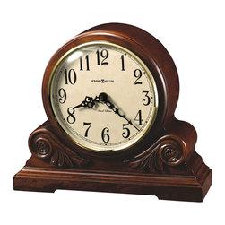 Howard Miller - Howard Miller Dual Chime Contemporary Quartz Mantel Clock | DESIREE - 635138 DESIREE