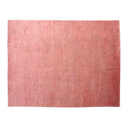 Overdyed Peshawar Pink 100% Wool 10'x14' Hand Knotted Oriental Rug SH15437 - Our Overdyed & Patchwork hand knotted Rug Collection is another highly demanded rug in our industry today. For our Hand Knotted  Overdyed Rugs we have a team that strips the original colors and overdyed in either more vibrant or softer & subtle hues.  The Patchwork Hand Knotted Rugs are very unique and complex.  Its composed of several different designs made up into one rug.