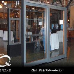 Quantum Windows and Doors - Clad List & Slide exterior