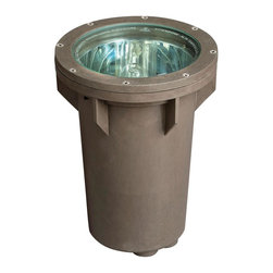 Hinkley Lighting - Hinkley Lighting 51000BZ 120V 100W Line Voltage Small In Ground Well Light - Hinkley Lighting's mission is simple: to bring you cool classics that suit the way you live today.