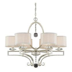 Savoy House - Savoy House 1-250-6-307 Rosendal 6 Light Chandelier - Savoy House 1-250-6-307 Rosendal 6 Light Chandelier