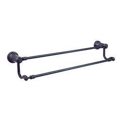 """Price Pfister - Price Pfister BTB-YP5Y Ashfield 24"""" Double Towel Bar in Tuscan Bronze - Price Pfister BTB-YP5Y Ashfield 24"""" Double Towel Bar in Tuscan BronzeA full line of bathroom accessories designed specifically to coordinate with our most popular line of Ashfield decorative faucets. This program offers a complete, coordinated design solution, from accessories to faucets, its the simple way to give your room the perfect finishing touch.Price Pfister BTB-YP5Y Ashfield 24"""" Double Towel Bar in Tuscan Bronze, Features:• Concealed Screw Installation for a clean look"""
