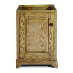 "Pegasus - Pegasus TRD-PRTV-24DW Puritan 24"" Vanity Cabinet Only in Driftwood - Pegasus TRD-PRTV-24DW Puritan 24"" Vanity Cabinet Only in DriftwoodThe Puritan 24"" Vanity Cabinet Only in Driftwood has a decorative toe kick and bronze cabinet hardware to help bring sophistication and style into your space. The raised panel door design provides concealed storage for your bathroom items. Please see our Delivery Notes for Freight Shipments for products that are oversized and/or are too heavy to ship UPS ground. Pegasus TRD-PRTV-24DW Puritan 24"" Vanity Cabinet Only in Driftwood, Features:bull; Dimensions:  24"" w x 21.5"" d x 34"" h"
