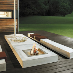 modern patio by usona