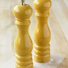traditional salt and pepper shakers and mills by Williams-Sonoma