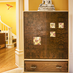 "Bespoke Furnishings - ""Kanzan"" ® Shoe Cabinet designed by Adeeni Design Group"