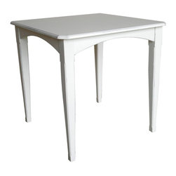 EuroLux Home - New Gathering Table White/Cream Painted - Product Details