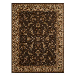 Loloi Rugs - Loloi Rugs Stanley Collection - Chocolate / Beige, 2' x 3' - The magnificent Stanley Collection features modern interpretations of the most sophisticated hand knotted designs. Recreated in Egypt with power loomed technology these gorgeous polypropylene area rugs offer an affordable alternative.