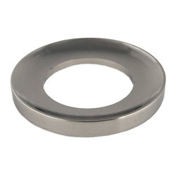 Eden Bath - Eden Bath MR01BN Vessel Sink Mounting Ring - Brushed Nickel - Vessel sink mounting ring for use with glass vessel sinks  or any bowl shaped vessel sink that does not have a flat bottom. The mounting ring goes between your glass vessel sink  and the countertop.