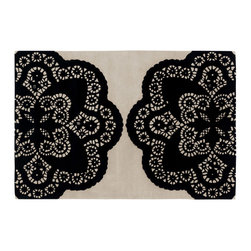 Chandra - Chandra Thomaspaul OEC Rug - Thomas' concept is simple The design concept is to mix unrelated historic design styles - art nouveau, 60's pop art, 70's minimalism, 18th Centurn Baroque - and reinterpret these disparate periods into a unique style with coordinated color palette that works with today's interiors. Price points are accessible to attract a stylish and design driven youth.