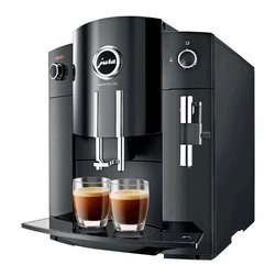 Jura - Jura Impressa C60 - Jura Impress C60 is simple and elegant. A rotary switch combined with a plain text display allows you to brew a perfect cup of coffee at the touch of a button. The C60 also features Jura's Fine Foam Frothing technology for delicious cappuccino and latte.