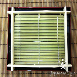 Soba Tray - Cold soba (buckwheat) noodles are my favorite lunch on a hot afternoon, or even all year long. This bamboo tray lets the noodles keep draining while waiting to be dipped into the savory, cold soup.