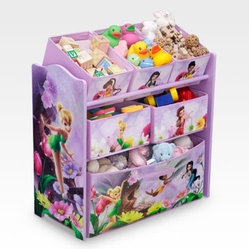 Delta Disney Fairies Multi Bin Toy Organizer
