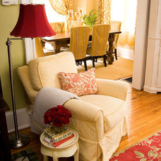 Traditional Living Room by STEPHANIE BRADSHAW, A Creative Studio