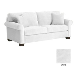 Apt2B - Lafayette Sofa, White - Here we have the classic sofa. The Lafayette Collection can be spiced up with modern accents or mellowed out with casual neutrals. Whatever your style, your living room will come together with ease. Upholstered in a smooth, stain resistant microfiber fabric.