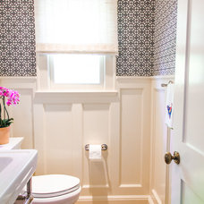 Traditional Bathroom by Evars + Anderson Interior Design