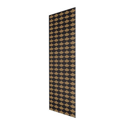 Chasing Paper - Biggest Fan Black Gold S002801 Wallpaper Panel - Biggest Fan Black Gold S002801 Wallpaper Panel is Self-adhesive.Collection name: Self Adhesive Wallpaper PanelSize of each panel is 2 feet by 4 feet.This wallpaper panel with fan pattern in black and gold tones gives a classic look to your home. Also, the wallpaper panel is removable and easy to install.