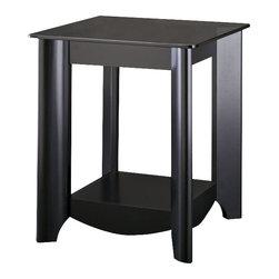 Bush - Bush Myspace Aero End Tables in Classic Black Finish (Set Of 2) - Bush - End Tables - MY1692203 -